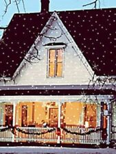 Light Flurries Snow Show Christmas House Lighting Outdoor Decoration OPEN BOX