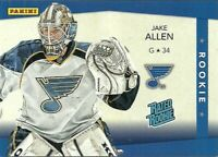 JAKE ALLEN  2012 PANINI RATED ROOKIE RC #147/399
