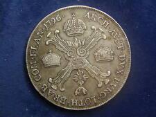 1/2 Kronentaler 1796 A Wien Franz II. - Taler    W/18/318