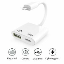 Lightning to Camera USB Female OTG Adapter Charging Cable for iPhone11 /Xs Max