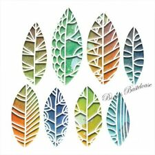 8 Stanzschablonen Sizzix Thinlits Blätter Cut Out Leaves 664431 Tim Holtz