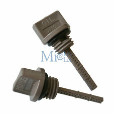 2 X Oil Filler Cap Dipstick For Honda GX35 UMK431 HHB25 HHH25 Engine Motor Parts