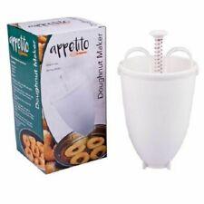 Appetito 2817 Plastic Doughnut Maker - White