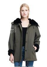 Armani Exchange A|X Women's Military Green Coat/Jacket - D5K337MZ Size M