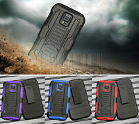 Rugged Armor Hybrid Case Impact Cover Holster For Samsung Galaxy S5 Active G870