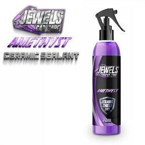 Jewels Amethyst Ceramic Coating Shield Si02 Ultimate Shine,Armor Protection Wax