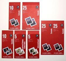 CANADA lot de 6 1991 brochures. 2.40 To $21 $. (avec Olympique logo) neuf sans charnière