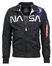 Alpha INDUSTRIAS Hombre NASA Chaqueta Flight Nailon