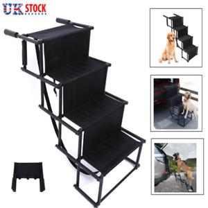 Lightweight Foldable Folding Outdoor Pet Dog Car Ladder Boot Access Steps Stairs