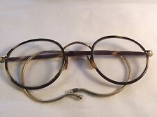 VINTAGE TORTOISESHELL AND GOLD PLATED GLASSES IN CASE