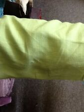 Lime Irish linen Curtain Fabric (by the metre)