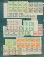 "ROC 1936 Japanese occupation of Northeast China ""Manchukuo"" 140 Stamps"