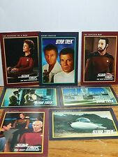 Star Trek Lot of Seven Cards 1991 Enemy Unseen, The Schizoid Man