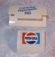 Original Vintage Pepsi Cola Golf Tees Soda Advertising