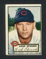 1952 Topps #176 Hank Edwards VGEX Reds 109052