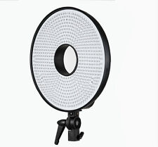 LED Video Ring Light Lamp DVR-630DVC Color Temperature 3000K~7000K Adjustable