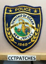 TOWNSHIP OF OCEAN, NEW JERSEY POLICE SHOULDER PATCH NJ