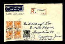 NEDERLAND 1931-6-25   REG FLIGHT CV   TO BANDOENG - JAVA  F/VF