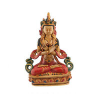 Estatua Tara Tibetano Diosa Budista Vajradhara Buda 20CM CB5-5875