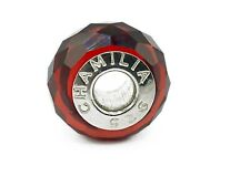 CHAMILIA MURANO GLASS BEAD 925 CHARM- JEWELLED COLLECTION RED