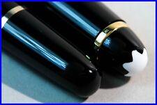 MONTBLANC CLASSIQUE 163 maestro pezzo Rollerball Pen Nero & Oro/come nuovo