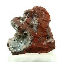 Hematite Quartz Florence Mine Cumbria UK Mineral Display Specimen 302g 8cm