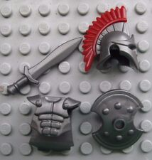 Custom TROJAN ARMOR & WEAPON PACK for Lego Minifigures Ancient Greece TROY