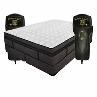KING INNOMAX MEDALLION MATTRESS ADJUSTABLE AIR BED 50 NUMBER REMOTE CONTROL