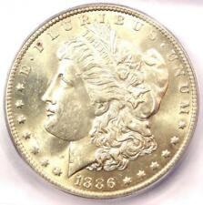 1886-O Morgan Silver Dollar $1 - ICG MS62 - Rare Date in UNC/BU - $1,740 Value!