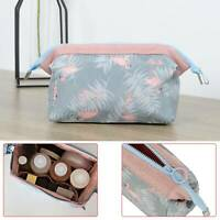 Ladies Wash Bags Toiletry Cosmetic Travel Make Up Bag Hanging Organizer UK