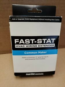 Fast Stat Common Maker Add A Wire C For WiFi Or Powered Thermostat