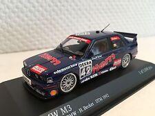 BMW M3 Item Maas-BMW Becker 1992 DTM 1:43 Minichamps neu & OVP 430922042
