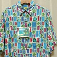Disney Pixar MONSTERS INC × Reyn Spooner Disney Store Limited Hawaiian Shirt NEW