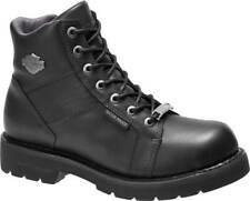 Harley-Davidson Men's Weber 5.5-Inch Waterproof Black Motorcycle Boots D96178