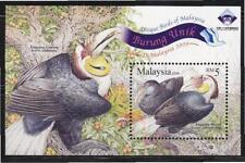 MALAYSIA 2009 UNIQUE BIRDS MINIATURE SHEET O/PRINT CHINA 2009 WORLD STAMPS EXHI.