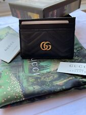 GUCCI GG Marmont Card Holder/ Wallet