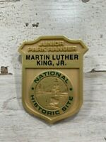 Martin Luther King Junior Ranger Badge, National Historic Site.  Great Condition