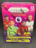 2019-20 Panini Prizm Premier League Soccer Football Blaster Box Pulisic!
