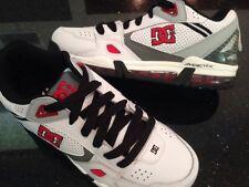 New mens DC Skate Shoes Versaflex White/black/red size 6.5