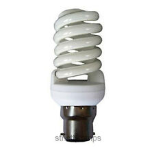 Mini 25w Energy Saving Spiral Light Bulb 125w Equivalent Bayonet Cap B22