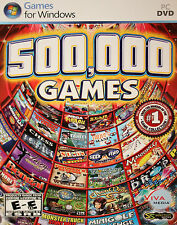 500,000 Games (PC, 2010) BRAND NEW SEALED SHIPS NEXT DAY