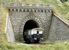 Busch Tunnel Portals Single Track 7022 HO and OO Scale