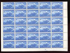 TONGA 1961 POSTAL SERVICE 2d MINT SHEET of 60 stamps