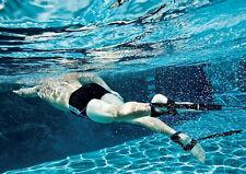 Aqua Sphere STATIONARY SWIMMER ANKLE Strap Swim Lap SWIMMER Training 1003219 NEW