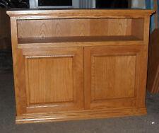 New Handmade Oak  TV Stand / Media center