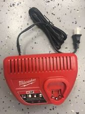 NEW Milwaukee 48-59-2401 M12 12V Lithium Ion Battery Charger 12 Volt