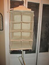 8 Shoe Pocket And ROD Hanging Organizer Home Household Closet Storage