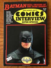Comics Interview Super Special Magazine - 1989 - Batman