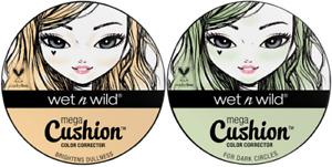 Wet n Wild Mega Cushion Color Corrector 8g - New & Sealed - 2 Shades Available