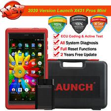 2020 New LAUNCH X431 PROS MINI Car Scanner Diagnostic Tool OBDII ECU Coding TPMS